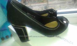 Замшевые туфли Ramoni Tenza . Одеты один раз в помещении.