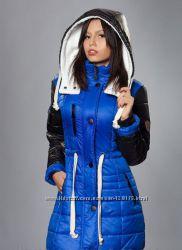 Зимняя куртка парка, пролет, размер М