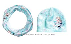 Наборы Н&М шапка и шарф 1-12лет