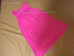 Платье-туника и сарафан розового цвета