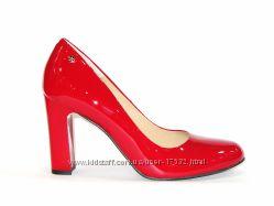 Роскошные кожаные лаковые туфли, новая коллекция. Польша, 37р.