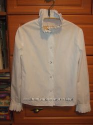 школьная блузка Велма 128-134