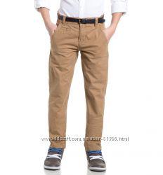 Летние брюки HERE&THERE с сайта C&A р 134 с ремнем в комплекте