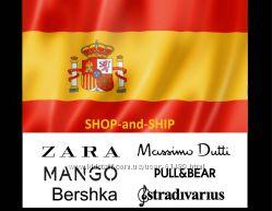 Испания. Zara, MANGO, MASSIMO, Bimbaylola и др Португалия индивидуально