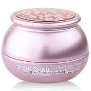 Антивозрастной улиточный крем Bergamo Pure Snail Wrinkle Care Cream 50мл