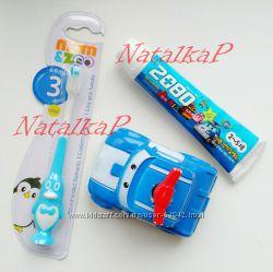 Забавные детские зубные щетки на присоске Мышка , Пингвин