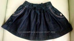 Джинсовая юбка NEXT размер 5-6 лет