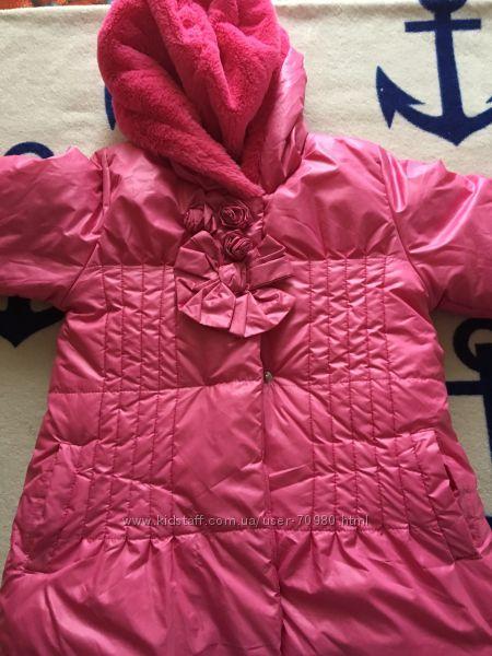 Wojcik 110 116 пальто зима изософт