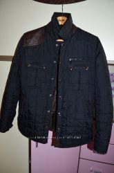Модная стеганная куртка Zara размер L или 40
