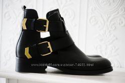 Кожаные ботинки Sacha Испания р. 40 по стельке 26, 5 см