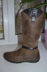 Кожаные сапоги Primigi с мембраной Gore-Tex р. 37 по стельке 24, 5 см