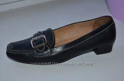 Кожаные туфли Geox made in Brazil р. 38 по стельке 25 см