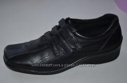 Кожаные мокасины, туфли Ecco р. 38 по стельке 25 см