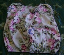 Красивая и легкая блузочка до роста 98 см