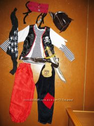 Костюм пирата Джека Воробья. Рост 110-128.