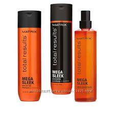Разглаживание непослушных волос Matrix Mega Sleek Total results шампунь спр