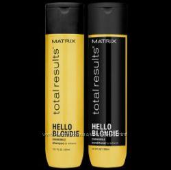 Шампунь кондиционер для сияния волос Matrix Total Results Hello Blondie