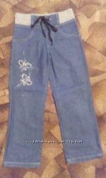 Джинсы на девочку б. у. ТМ Модні дітки р. 104-110 та ТМ Gloria Jeans р. 116