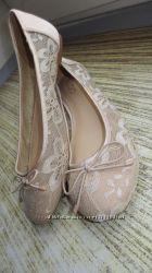 Нежные нюдовые балетки от ALDO 38р-24, 5см