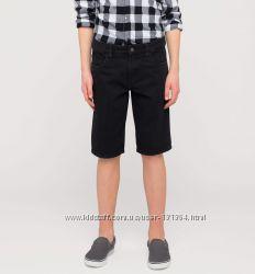 Новые джинсовые бермуды на мальчика р. 152 фирмы C&A