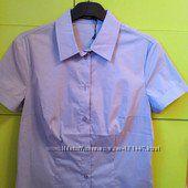 Голубая блузка Savage 44 р