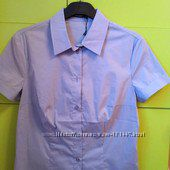 Новая голубая блузка Savage 44 р