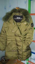 пуховое пальто Cavalli