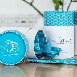Натуральный Коллаген для волос, тела и молодости-Nano Beauty. Япония