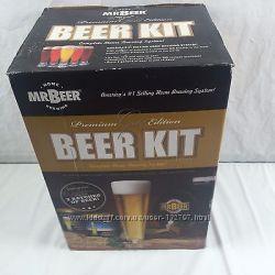 Продам домашнюю пивоварню Premium Gold Edition Beer Kit фирмы Mr. Beer
