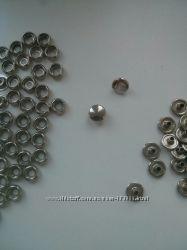 Кнопки белый металл системы Sport