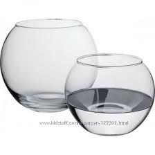 Стеклянные сферические вазочкиподсвечники