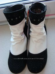 Распродажа ТМ Шалунишка утепленные  деми ботиночки  замш р 31-36