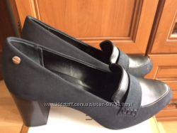 Туфли Calvin Klein, цвет черный