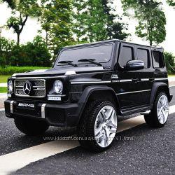 Детский электромобиль Mercedes G65 VIP 90W, 2. 4G, EVA-колеса