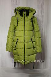 Cтильные женские молодежные зимнии куртки-.