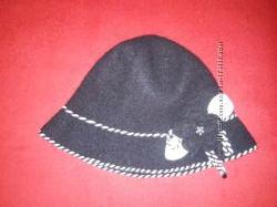 фетровая оригинальная шляпка для настоящей модницы