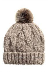 H&m шапка шерсть