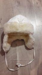 Зимняя шапка-ушанка Lenne 52