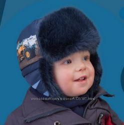 Качественная зимняя шапка-ушанка, TuTu