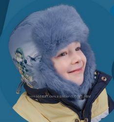Теплая качественная шапка ушанка для мальчика, 2 расцветки