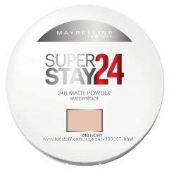 Пудра для лица мейбеллин SuperStay 24