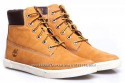Супер цена. Оригинал. Новые кожаные демисезонные ботинки TIMBERLAND-38р, 40
