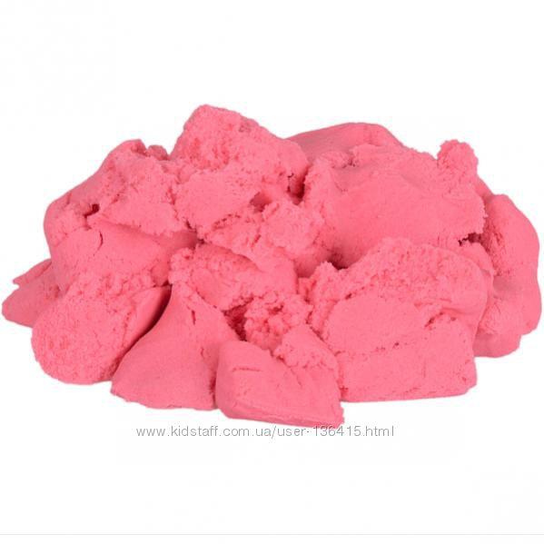 Кинетический песок 500г - остался коричневый и розовый