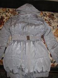Зимний пуховик для беременной. р. 48-50