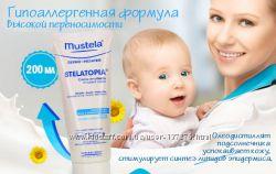 Mustela StelAtopia Крем эмульсия 200 мл помогает от дерматита