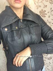 Перфорированая куртка-косуха