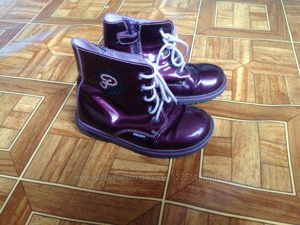 Демисезонные ботиночки Pablosky для девочки р. 27 16, 5