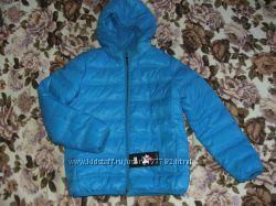 Куртка  пуховик на мальчика, рост 146-155