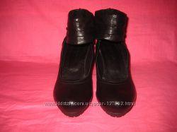 Кожаные фирменные туфли Roberto Santi оригинал - 37 размер