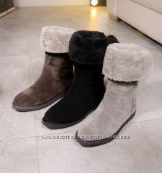 Зимние люксовые ботиночки  Salvatore Ferragamo
